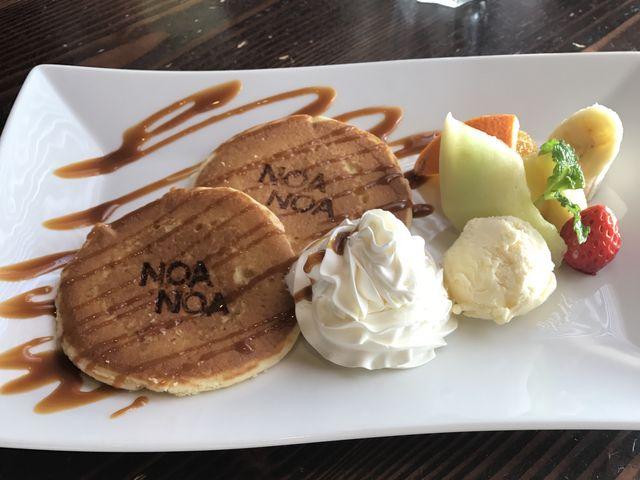 パンケーキおいしい_テラスNOANOA