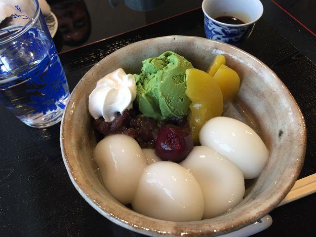 あんみつも美味しいです_神戸天ペロ