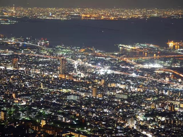 夜景_摩耶山