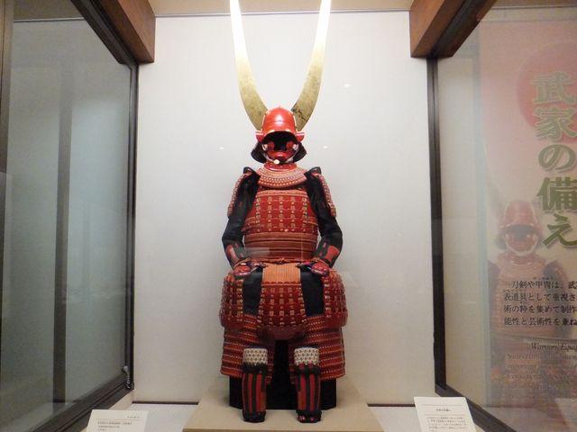 2代藩主:井伊直孝所用の甲冑(大坂の陣で使用された?)_彦根城博物館