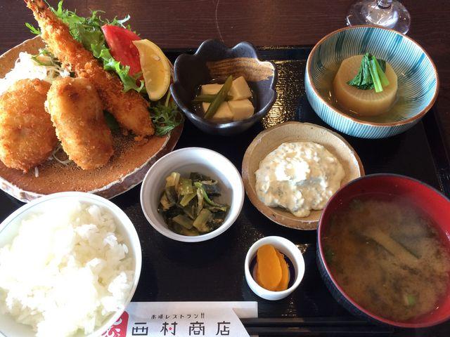 ランチ_市場レストラン 西村商店