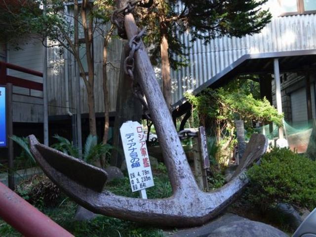 ディアナ号の錨_造船郷土資料博物館