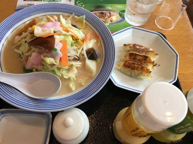 野菜たっぷりちゃんぽん_リンガーハット 長崎出島店