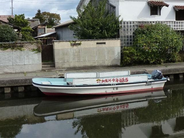 乗り心地は正直よくありませんが、それでも乗って良かったです_加茂川・中海遊覧船