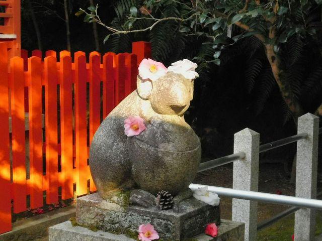 こちらも狛ねずみ_大豊神社
