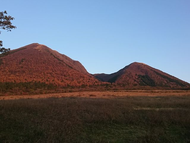 大山隠岐国立公園にあります。_大山隠岐国立公園 三瓶山