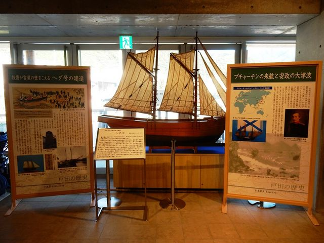 戸田の文化と歴史の展示コーナー_道の駅 くるら戸田