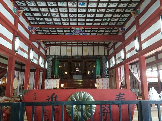 鹿児島神宮 拝殿_鹿児島神宮