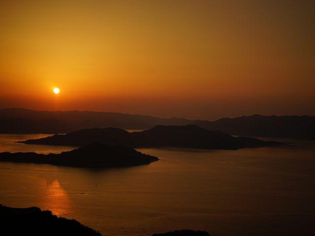 朝焼けは絶景でした。 (1/2)_高見山
