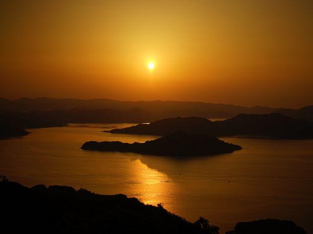 朝焼けは絶景でした。 (2/2)_高見山