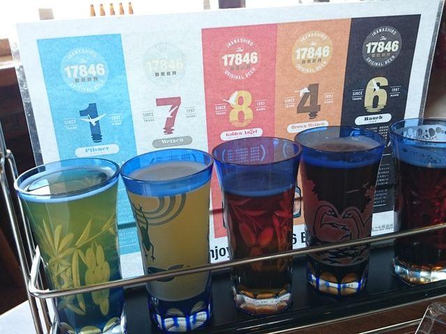 飲み比べセット_猪苗代地ビール館