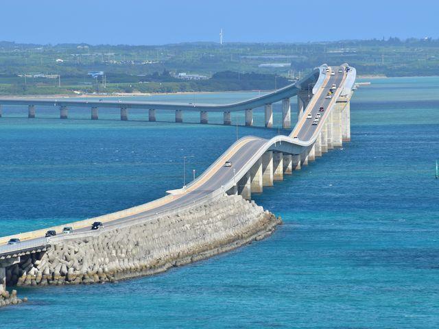 伊良部島側からの撮影_伊良部大橋