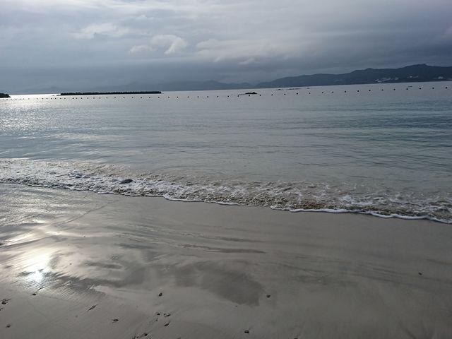 とても綺麗な白浜に感動しました_御座岬オートキャンプ場