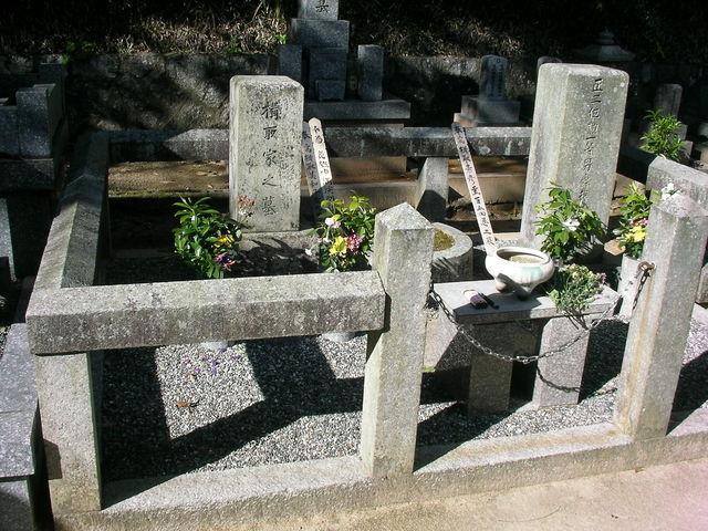 墓です_楫取素彦夫妻の墓