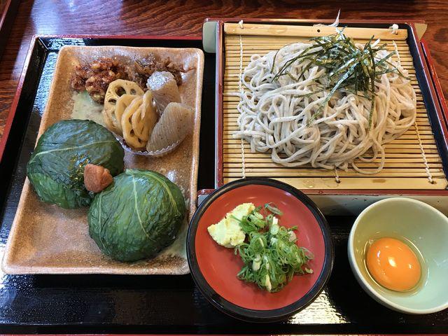 めはり寿司定食_喜楽食堂 きらく九兵衛