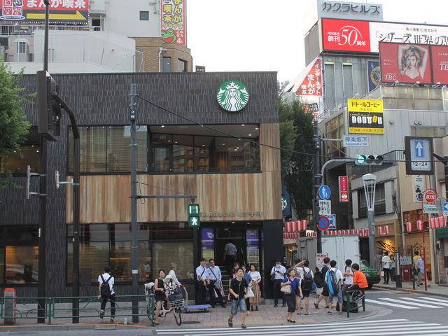 飯田橋駅前です_スターバックス・コーヒー 飯田橋メトロピア店