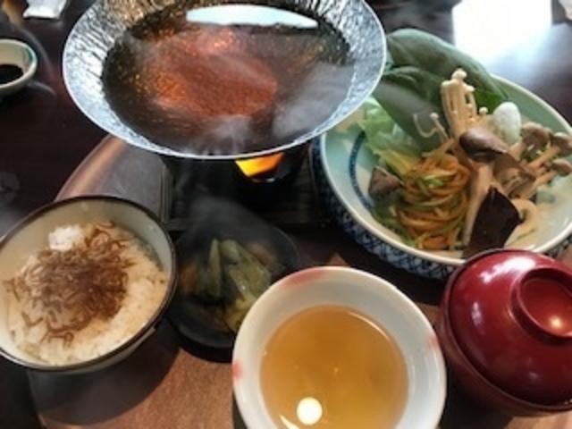料理 野菜ばっかり_温泉邸湯~庵