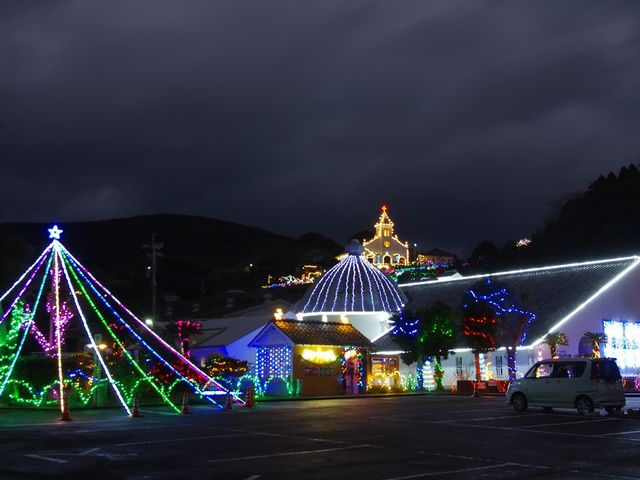 大江教会とロザリオ館と・・・。_大江教会