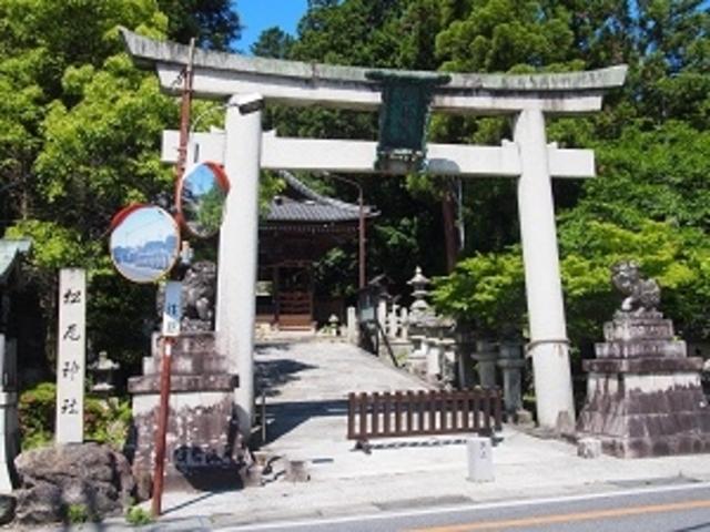 鳥居_松尾神社