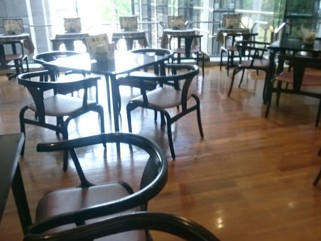 店内_福岡市博物館喫茶室