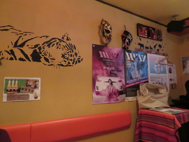 店内は虎がいっぱい_タイガーカレー