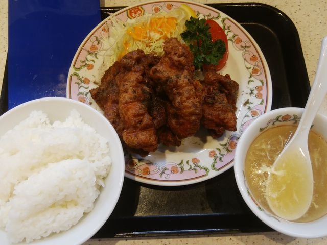 「スゴ辛チキン」はお薦めです。_餃子の王将 新小岩ルミエール店