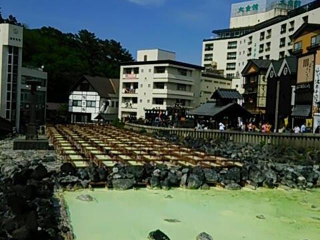 湯畑です♪_草津温泉
