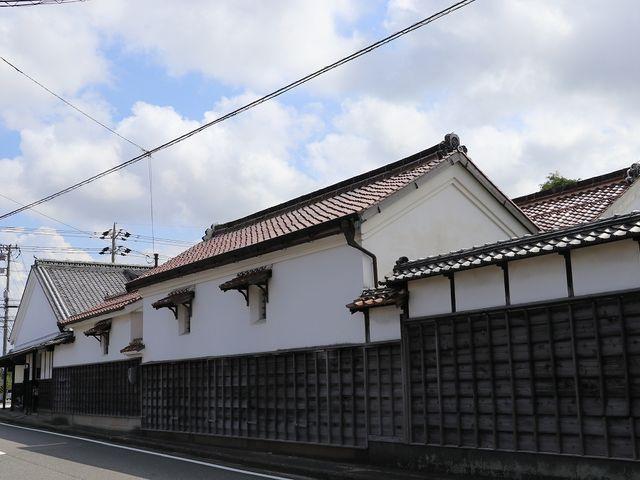 後藤家住宅の蔵。_米子城下町