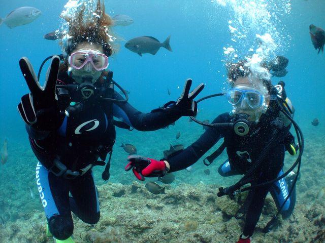 水中で息が吸えるって不思議☆_Marine activity NATURA(ナトゥーラ)