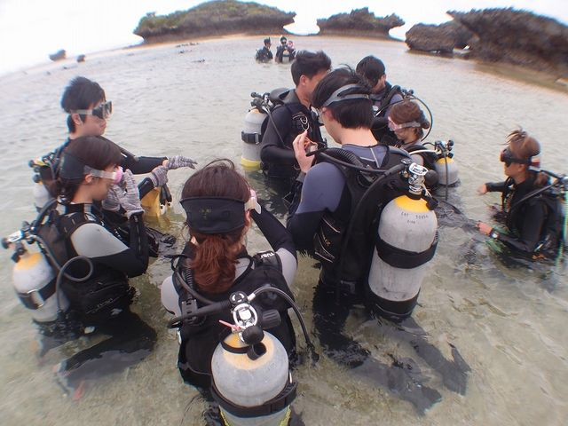 みんな最初はドキドキ☆_Marine activity NATURA(ナトゥーラ)