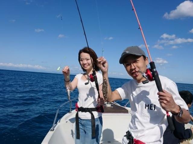 メバルが釣れました。_小樽 青の洞窟 釣り体験付きクルーズ