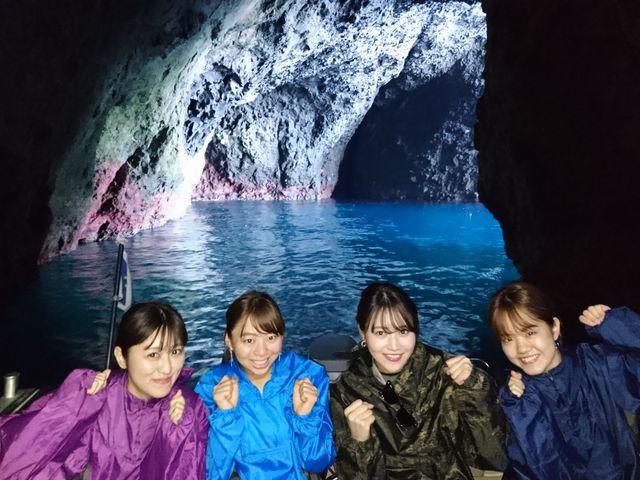 青の洞窟_小樽 青の洞窟 釣り体験付きクルーズ