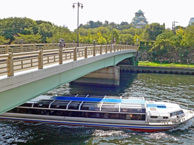 大阪水上バス「アクアライナー」