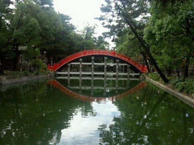 反橋(住吉大社の太鼓橋)