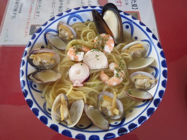 魚介の天城風パスタ_港のレストラン ポルトカーロ