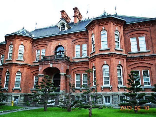 旧道庁の裏側_北海道庁旧本庁舎
