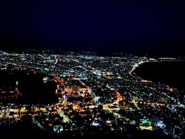 夜の函館夜景!_函館山