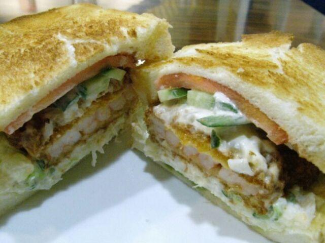 今回は軽くトーストして_Sandwich Factory OCM