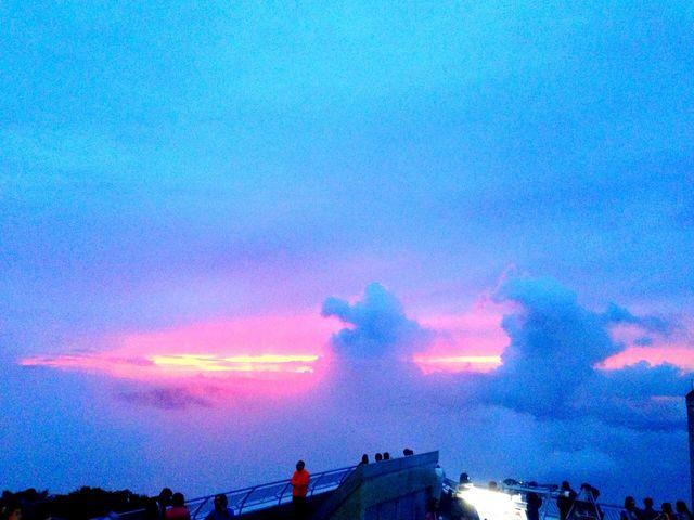 夕日が沈んだ時_函館山