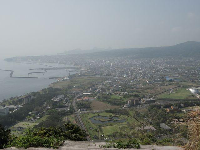 展望台から指宿方面_魚見岳自然公園