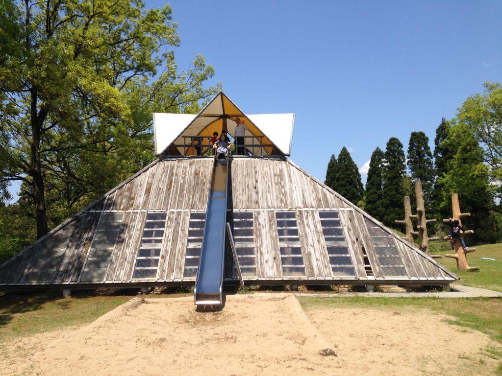 石川県森林公園 アスレチックコース