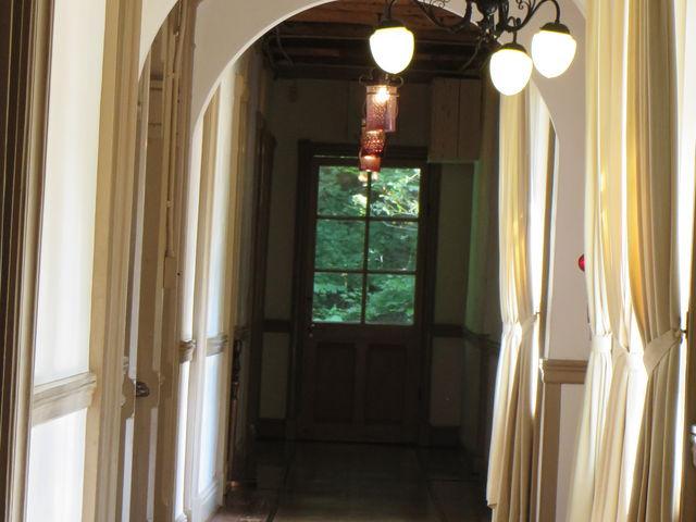 2階廊下_重要文化財 旧三笠ホテル