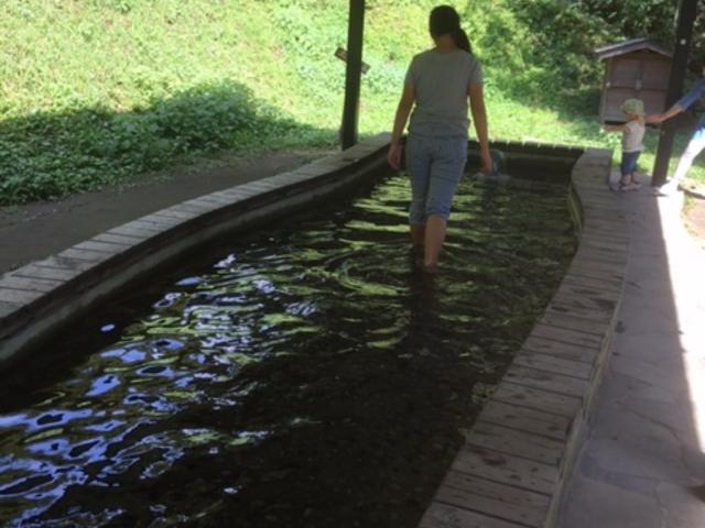 足水場です_白川水源