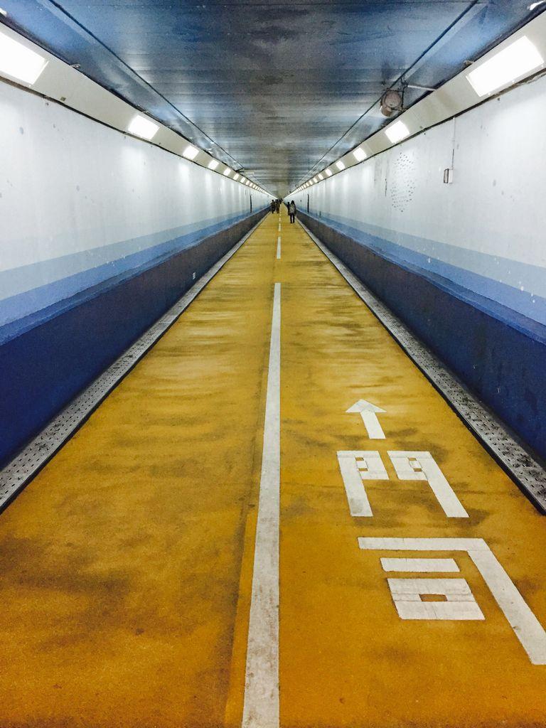 関門トンネル人道