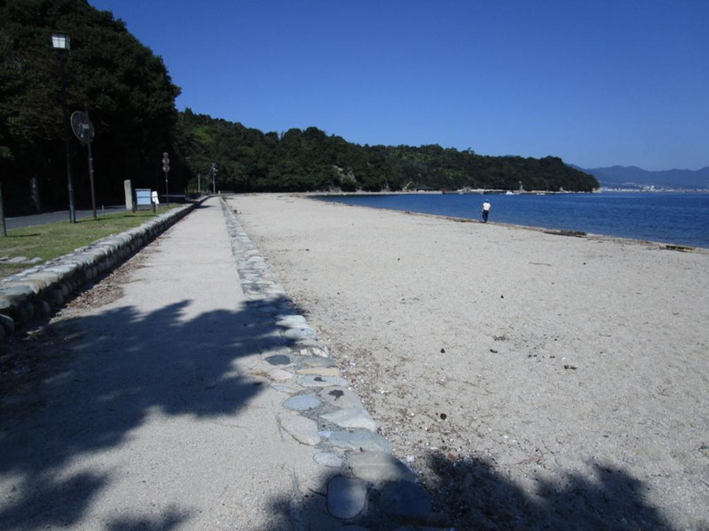 包ヶ浦海水浴場