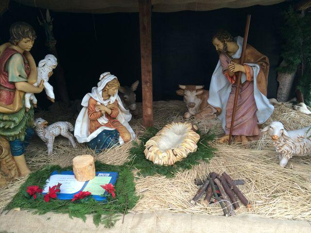 クリスマスシーズンだったので特別展示されてました。_山口サビエル記念聖堂
