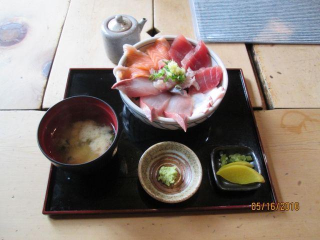 海の幸丼_囲炉茶屋