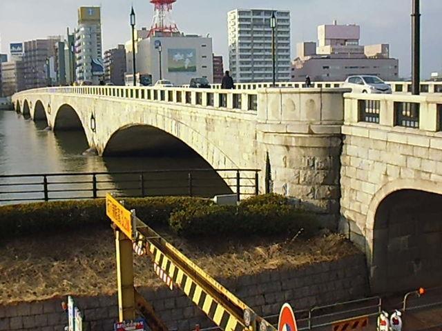 新潟と言えばこの橋。_萬代橋