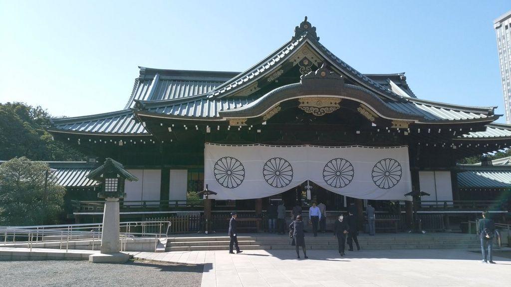 9 位 靖国神社