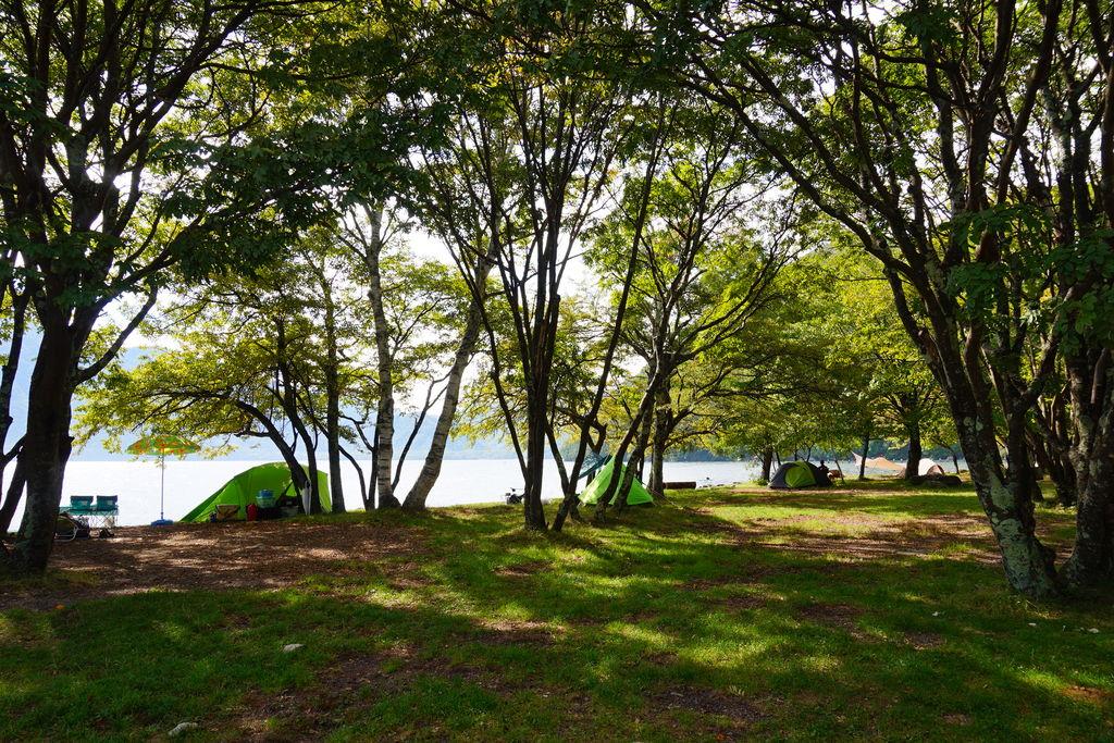 菖蒲ケ浜 キャンプ場